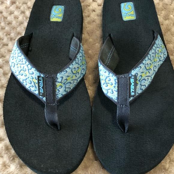 57e3f2fdc Teva shoes mush womens flip flop sandals size poshmark jpg 580x580 Teva  mush women